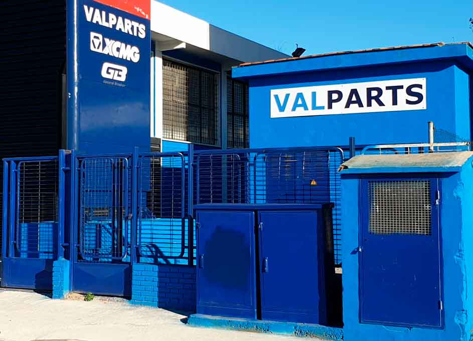 Fachada exterior Valparts